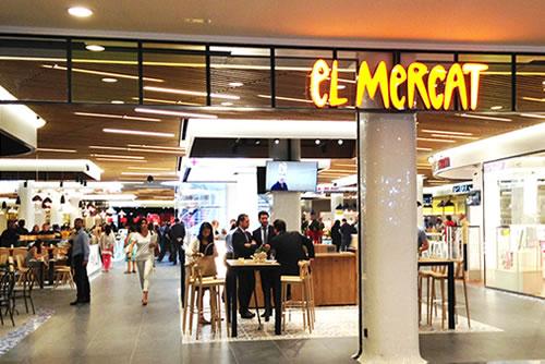 A El Mercat di Barcellona l'innovazione è sul soffitto