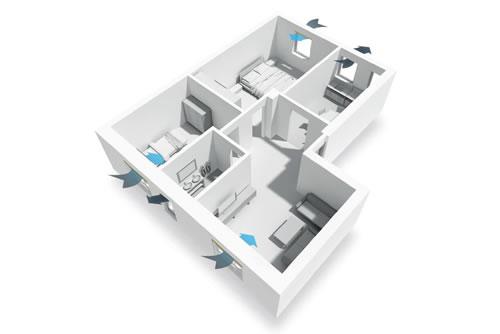 Come si fa a progettare la ventilazione degli edifici?