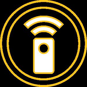 Gestione di Aircare da remoto con telecomando e app
