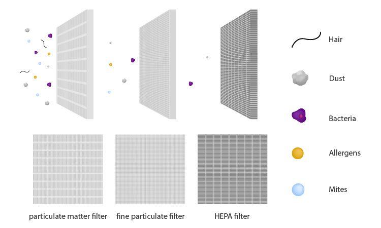 filter particulate matter