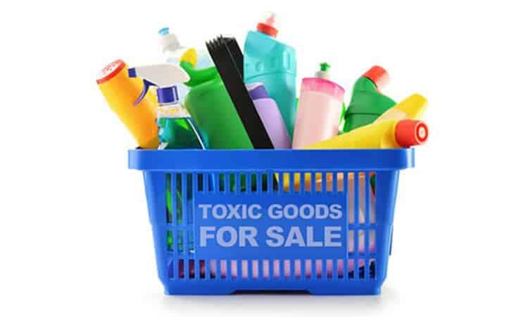 benzene nei prodotti per la pulizia di casa