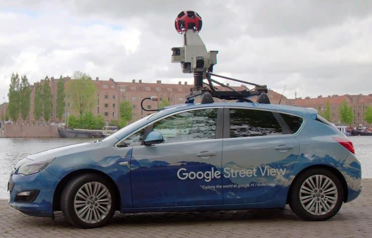 google street view misura la qualità dell'aria